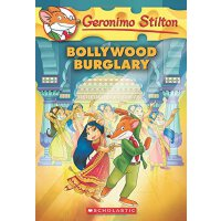 Geronimo Stilton #65: Bollywood Burglary 英文原版 老鼠记者65:宝莱坞劫案