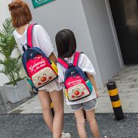 可爱亲子双肩包儿童背包幼儿园小书包女宝宝背包