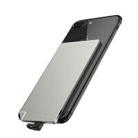 手机充电宝 迷你充电宝卡片安卓苹果6移动电源自带线tc便携式_c华为大容量创意可爱个性