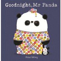 英文原版绘本 熊猫先生礼仪课堂 晚安,熊猫先生 Goodnight, Mr Panda