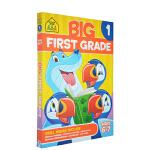 【6-7岁基础练习】School Zone Big First Grade Workbook 一年级练习册附答案 儿童