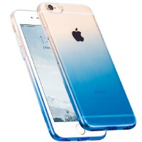 浩酷iphone6s plus手机保护套硅胶苹果i6P超薄渐变防摔软壳5.5