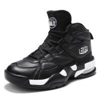 阿朵潮牌冬季高帮嘻哈增高板鞋男气垫休闲运动篮球鞋韩版男鞋大码