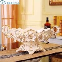 欧式茶几摆件客厅陶瓷欧式装饰品果盘创意家居摆件茶几水果盘零食样板房北欧