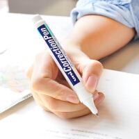 日本uni三菱CLP300高光笔涂改液CLP-300/80建筑手绘白色高光 钢头修正笔修正液笔学生笔型钢头修改液进口文