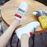 休闲鞋 魔术贴小白鞋女式韩版学生运动鞋2020新款女士休闲板鞋潮款女鞋子