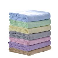 竹浆竹毛巾被盖毯单双人午睡毛毯休闲毯夏儿童夏凉毯子