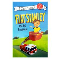 英文原版 Flat Stanley and the Firehouse [4-8岁]