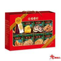 苏稻--茶食糕点祝福礼盒880g