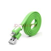 多彩适用于苹果6/6s数据线 手机充电器线 支持iPhone5/SE/6s/7 Plus 绿色
