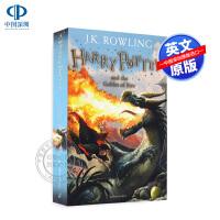 英文原版小说 哈利波特与火焰杯 4 第四部 青春文学科幻小说 英国版进口 Harry Potter and the Go