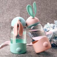 光一儿童水杯家用小学生饮水杯防漏宝宝玻璃水杯子牛奶杯小孩水瓶