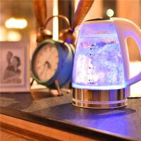 双层304不锈钢保温家用烧水壶玻璃电热水壶