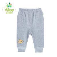 【139元3件】迪士尼Disney 童装婴儿抓绒裤子舒适男女宝宝外出长裤153K671