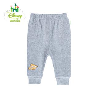 【卷后139元3件】迪士尼Disney 童装婴儿抓绒裤子舒适男女宝宝外出长裤153K671