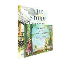 #英文原版 The Storm Book暴风雨中的孩子等2册 凯迪克银奖作品 [4-8岁]