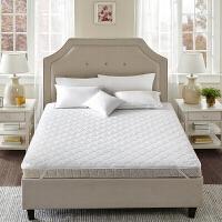 家纺床垫保护垫1.8m席梦思防滑垫被床褥榻榻米1.5m双人床护垫 舒柔磨毛白床垫