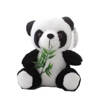 熊�公仔毛�q玩具玩偶抱枕黑白大抱抱熊女生布娃娃女孩生日�Y物小