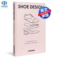 英文原版 Fashionary Shoe Design 进口艺术 鞋子设计 服装设计时尚 Fashionary