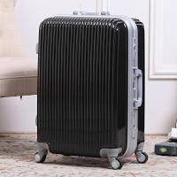 行李箱女韩版旅行箱万向轮男20登机箱清新密码皮箱24铝框28拉杆箱