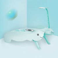 W儿童洗头椅子抖音同款洗头床可折叠加大号宝宝带手机支架洗发躺椅O