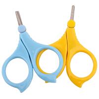 W 婴儿磨甲器婴儿指甲剪新生儿指甲刀专用宝宝磨甲器婴幼儿童指甲钳套装D14 颜色随机 单个装