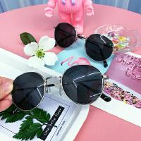 韩版夏季创意复古文艺小清新女文艺潮流原宿太阳眼镜细框圆形墨镜