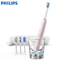 飞利浦电动牙刷HX9924成人款声波震动智能钻石系列牙刷
