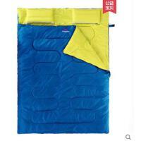 睡袋透气加宽加厚棉睡袋双人睡袋成人户外旅行四季保暖室内露营
