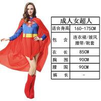 子装万圣节儿童服装男女童超人衣服化装舞会cosplay演出服