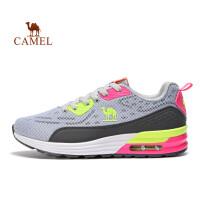 【每满100减50】骆驼牌 运动鞋 减震女士时尚跑鞋 女款透气系带跑步鞋