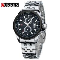 CURREN卡瑞恩 8082男士手表精密石英表进口商务时尚防水