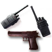 儿童玩具无线电对讲机一对亲子互动户外通话器呼叫道具男女孩礼物 沙鹰