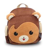 W 幼儿园可爱儿童小书包眼小熊双肩包1-5岁幼儿双肩背包