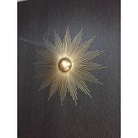 欧式铁艺壁饰创意软装家居装饰品电视背景墙挂件客厅玄关墙面挂饰