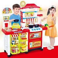 儿童超市购物收银机女童过家家卖东西的小推车收银台玩具