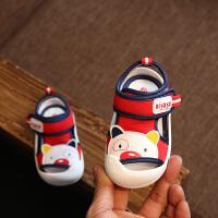 婴幼儿学步鞋子包头小童凉鞋夏季1-3岁宝宝凉鞋女软底鞋