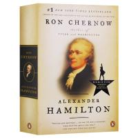 亚历山大汉密尔顿 英文原版 人物传记 Alexander Hamilton 英文版原版书籍 Ron Chernow 罗