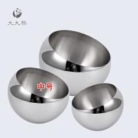 不锈钢斜口碗 零食碗糖果碗 台面垃圾桶多功能创意时尚果盘