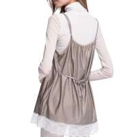 怀孕期围裙放射服吊带上班四季防辐射服孕妇装内穿上衣连衣裙