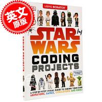 现货 星球大战 项目编码 英文原版 Star Wars Coding Projects