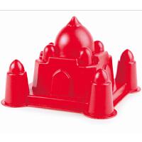 Hape泰姬陵1-6岁红色儿童沙滩玩具坚固耐用运动户外玩具E4063