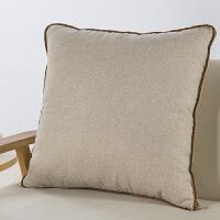 2019抱枕被子两用棉麻蚕丝靠垫大号靠枕办公室座椅沙发汽车腰靠空调被1