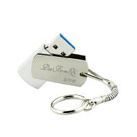 达芬奇旋转碟USB3.0高速金属16G8g优盘企业个人定制logo礼品U盘系统盘