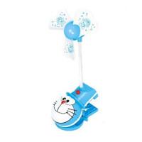 KT猫USB塑料迷你充电卡通夹子小叮当便携学生办公婴儿床夹子风扇