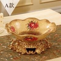 欧式时尚客厅水果盘家用茶几果篮简约美式复古果盆家居装饰品
