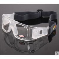 防滑运动眼镜 踢足球眼镜框专业篮球眼镜 男士运动眼镜 防雾可配近视