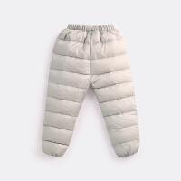 秋冬90绒儿童羽绒裤男童女童外穿婴儿加厚棉裤轻保暖宝宝羽绒裤