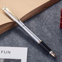 英雄(HERO)钢笔 200A全钢杆 金笔(14K)墨水笔 商务 礼品