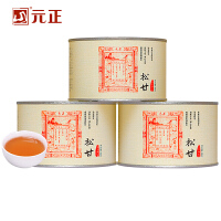 元正松甘正山小种红茶茶叶传统松烟熏罐装150g